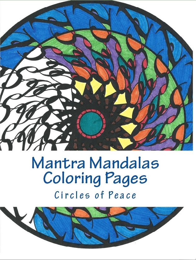 Mantra Mandalas - Circles of Peace Front Cover Only