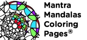 Mantra Mandalas Coloring Pages